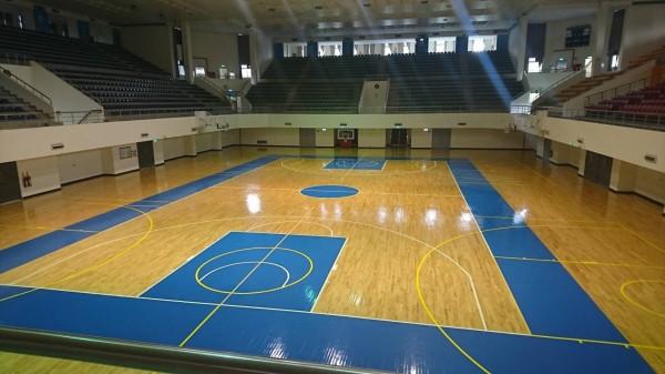 全國高中籃球聯賽今年將首次移師新竹市舉行,並要在國際標準賽事的市立體育館場舉行,展現籃球魂。(照片由新竹市政府提供)