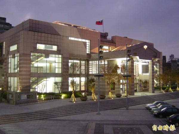 新竹市文化局演藝廳。(記者王駿杰攝)