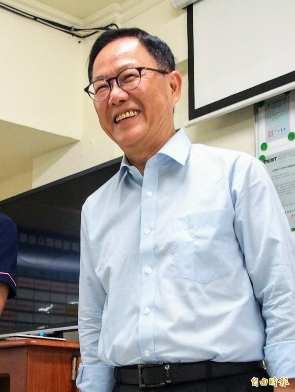 國民黨台北市長參選人丁守中一早在臉書粉絲專頁發文抨擊台北市長柯文哲。(資料照)