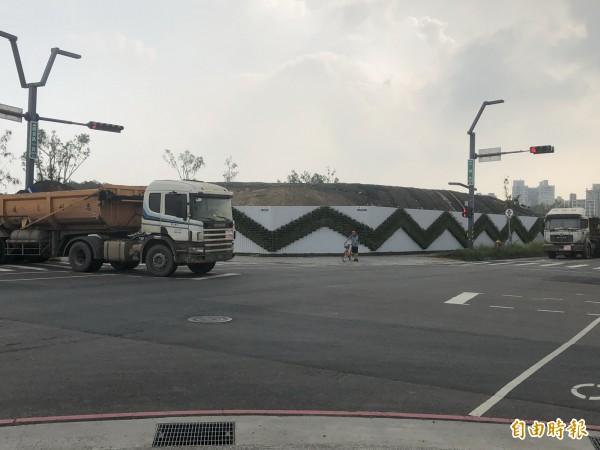 發生事故的路口。(記者許國楨攝)