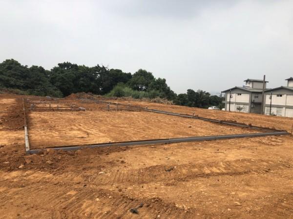 南投旺來產業園區,目前正進行整地。(南投縣政府提供)