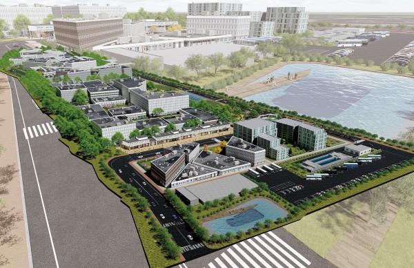南投旺來產業園區模擬示意圖。(記者張協昇翻攝)