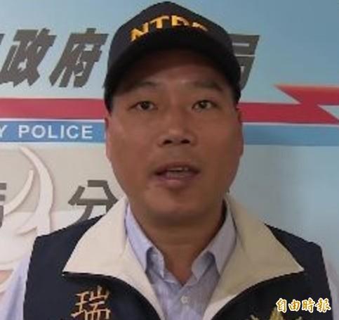 新北市警局瑞芳分局前偵查隊長林國雄。(記者吳昇儒攝)