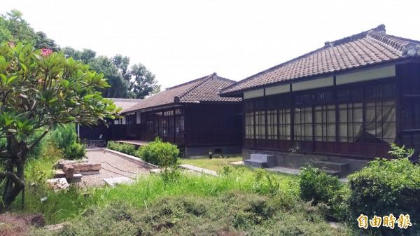 虎尾文化四館之一的涌翠閣。(記者廖淑玲攝)