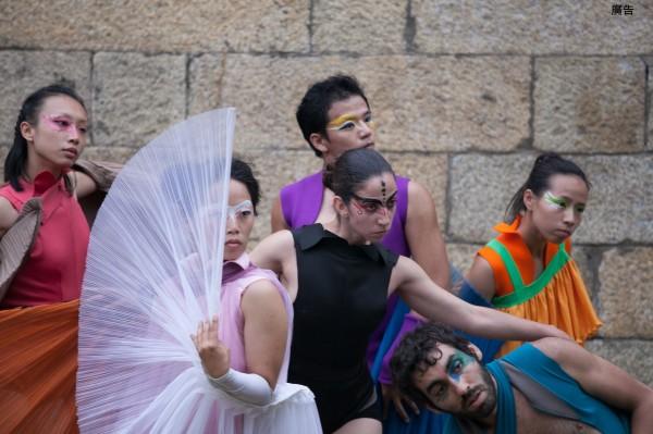 舞蹈生態系創意團隊。(桃園市府文化局提供)