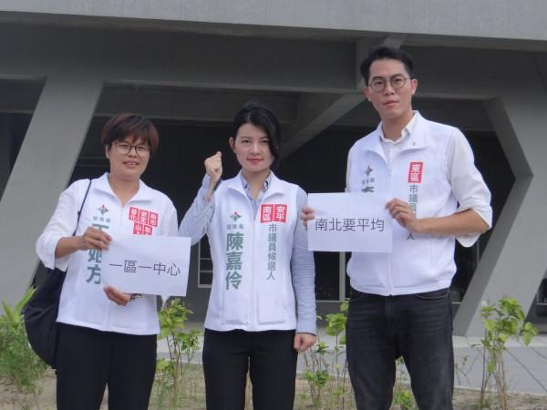 基進黨提出台南一區一運動中心的政見。(基進黨提供)