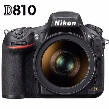 Nikon D810數位單眼相機。(非當事相機,圖擷取至網路)