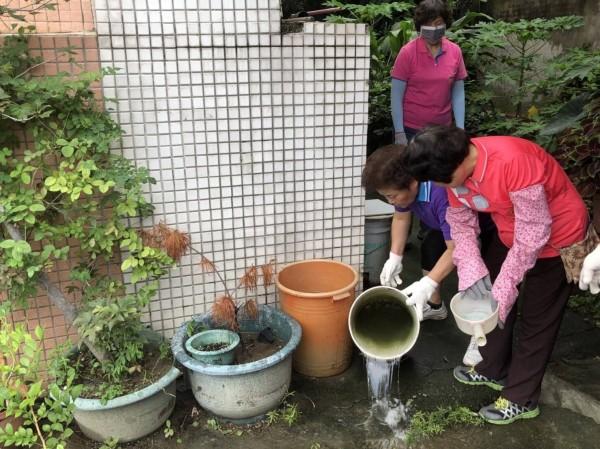 台中市仍有新增登革熱本土病例,提醒近日部分地區出現間歇性降雨,應落實清除孳生源。(記者蔡淑媛翻攝)