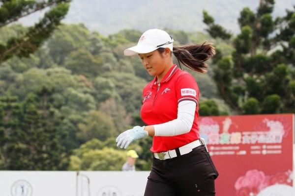 史上最年輕女子高球賽冠軍,新竹市吳佳晏讓人驚豔。(照片由市府提供)