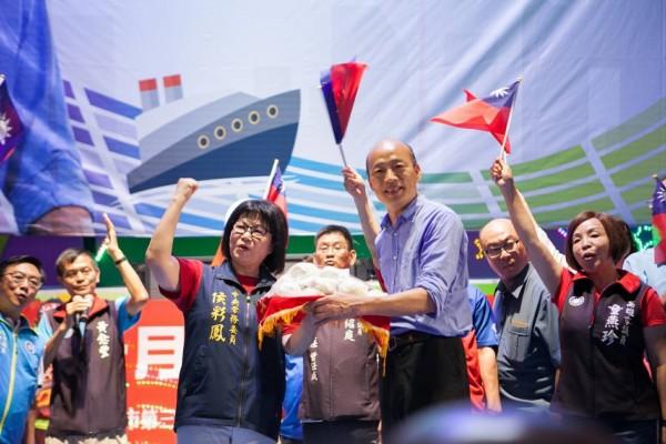 國民黨高雄市長參選人韓國瑜。(記者葛祐豪翻攝)