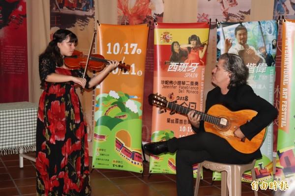 宜蘭市公所舉辦的「2018丟丟銅蘭城國際音樂節」將於17日登場至21日止。(記者林敬倫攝)