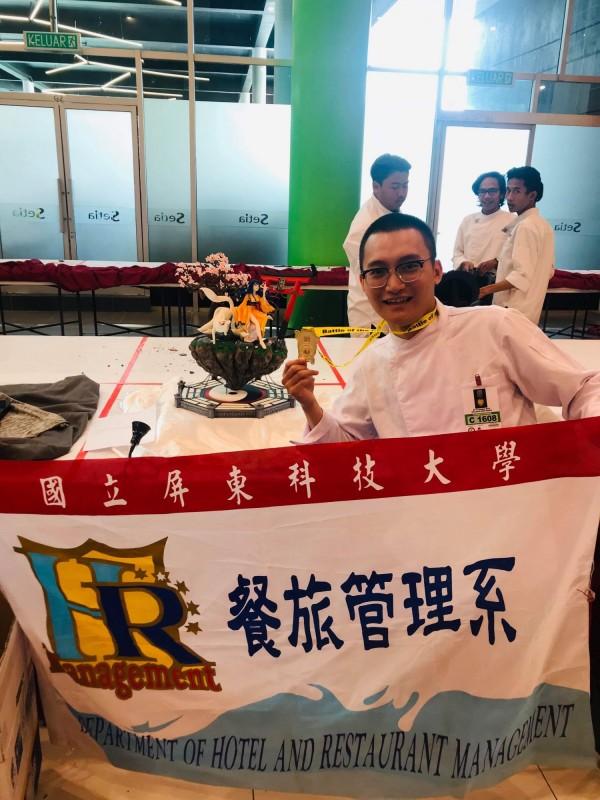 翟宇凡讓台灣的翻糖實力再被世界看見。(翟宇凡提供)