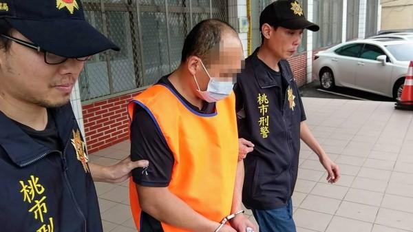 警方將陳姓男子依違反槍砲罪嫌移送法辦。(警方提供)