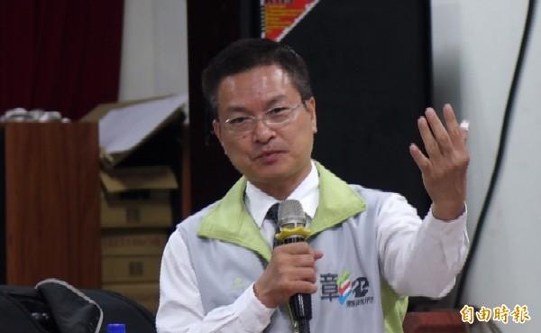 彰化县长魏明谷。(资料照,记者刘晓欣摄)