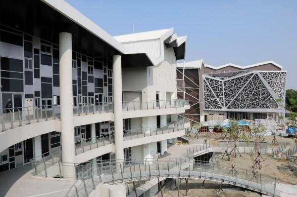 台南市府表示,等到台江文化中心等重大建設完工,觀光潛力不可限量。(市府提供)