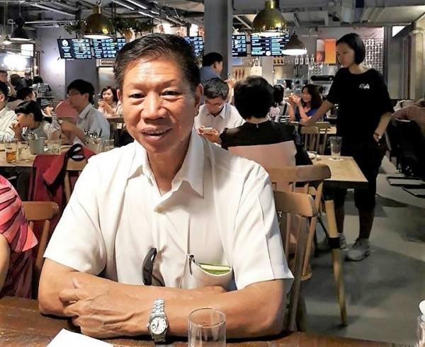 前立委郑朝明已布局明年民进党屏东县区域立委提名初选。(记者侯承旭翻摄)