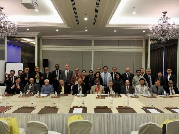 亞洲培訓總會理事會議。(中華民國訓練協會提供)