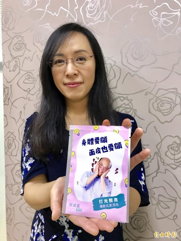 原住民立委陳瑩是蘇貞昌擔任民進黨主席時的婦女部主任,長期經營平地原住民選票。(記者蘇芳禾攝)