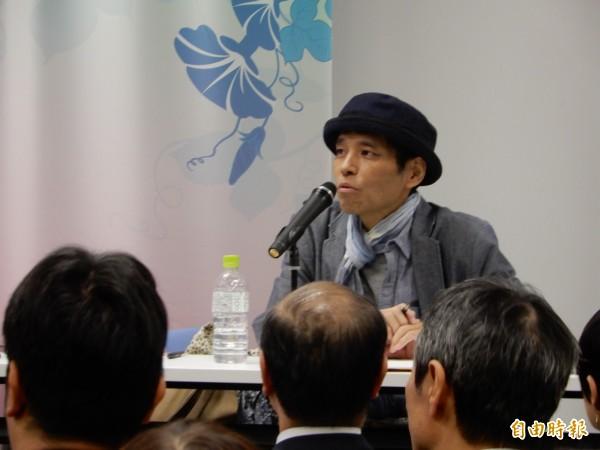 將台灣文學引進日本的翻譯家天野健太郎,12日因癌症去世享年47歲。(記者林翠儀攝)