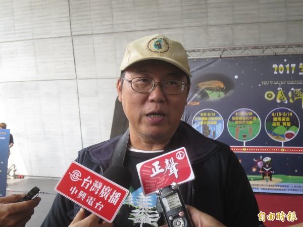 台灣螢火蟲之父何健鎔,日前因病猝逝,令螢火蟲相關領域的產官學界錯愕不已。(資料照,記者劉濱銓攝)