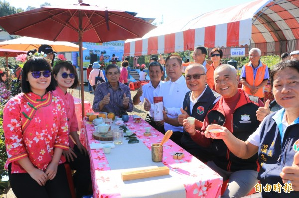 三灣茶產業蘊含豐富客庄人情文化。(記者鄭名翔攝)