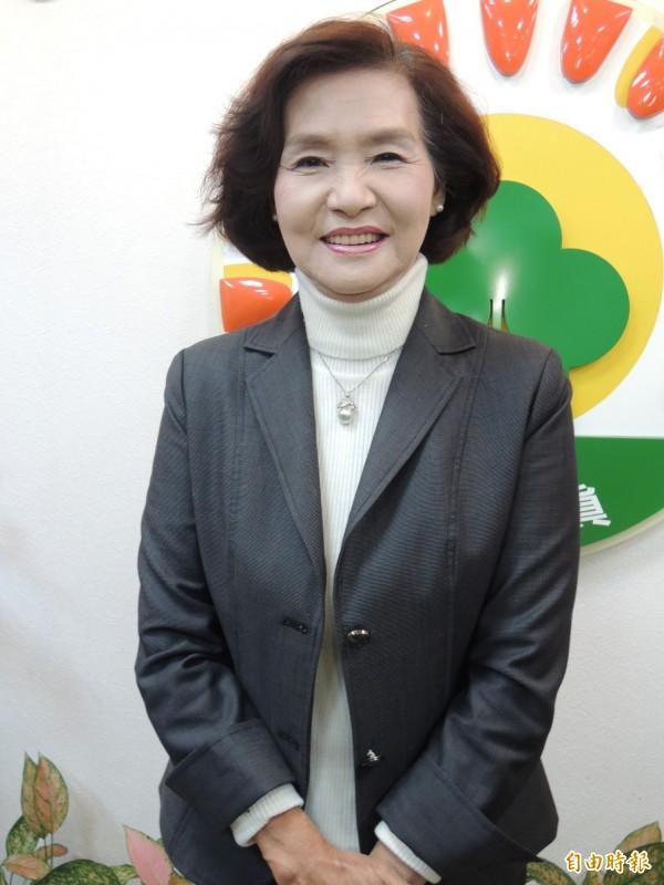 宜蘭縣首位女縣長林姿妙,將在25日宣誓上任。(記者江志雄攝)