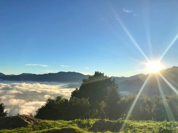 阿里山的壯麗日出雲海。(林鐵及文資處提供)