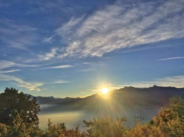 阿里山日出美景。(林鐵及文資處提供)