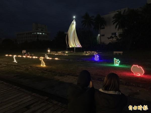 台東12米耶誕樹點燈 歲末活動24日起嗨到跨年