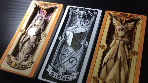 庫洛魔法使可說是眾多人的童年回憶,隨著新章動畫在日本開始播映,竟有日本神人手工做出了立體庫洛牌!(圖片由mozza120x2授權提供使用)
