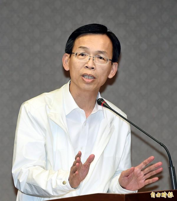 民航局長林國顯承諾兩週內檢是討是否全面酒測機師。(資料照,記者方賓照攝)