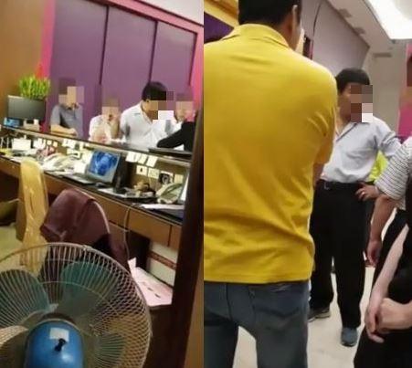 餐廳老闆被指大鬧婚禮。(圖擷取自爆料公社影片)