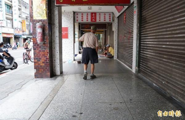 萬華遊民示意圖與文無關。(資料照)