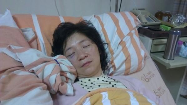 台聯立委周倪安當時被送醫治療。(資料照,記者王文萱攝)