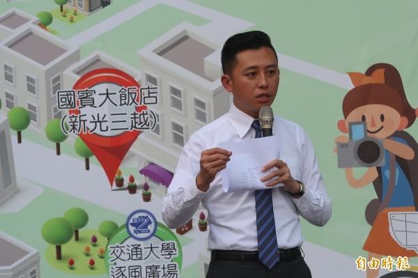 新竹市市長林智堅。(資料照)