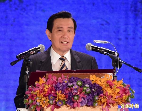 馬英九曾表示,中韓FTA將對台造成極大影響,呼籲立法院盡速審查服貿協議。(資料照,記者胡舜翔攝)