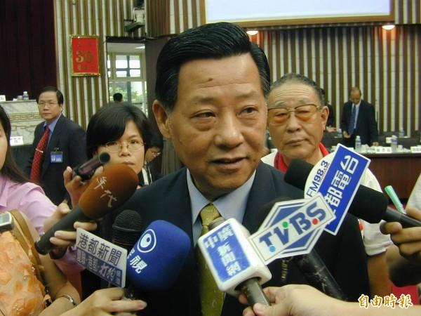 前高雄市議長朱安雄。(資料照)