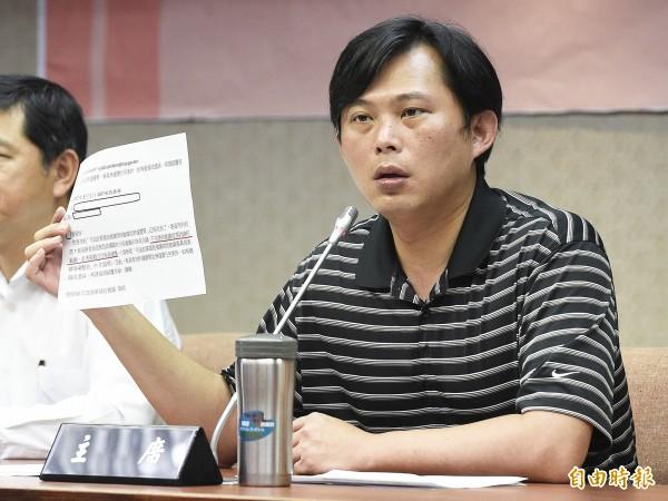 立委黃國昌認為,北院判決很難令人信服,即使由法學的角度來看,他也無法認同。(資料照,記者陳志曲攝)