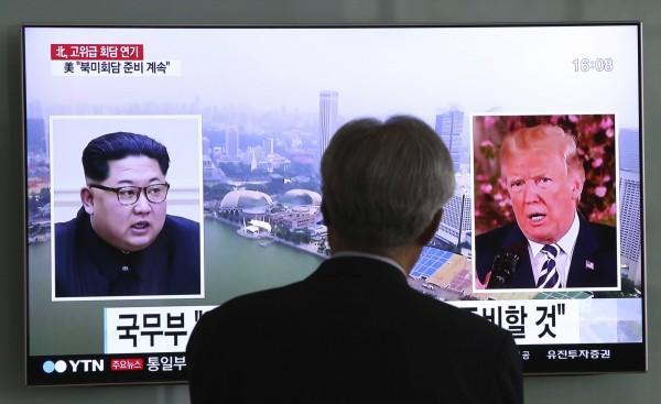 針對北韓揚言要取消「川金會」,美國白宮今(16)日表示,他們仍然希望會議能夠舉行。(美聯社)
