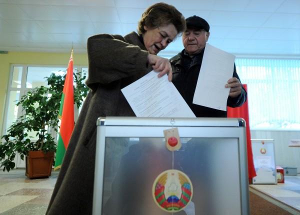 白俄羅斯將於11日上午8點到晚上8點進行總統選舉,現年61歲的現任總統魯卡申科也投入參選、尋求連任。(法新社)