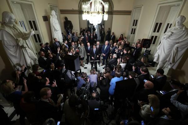 美眾院通過川普稅改最終版本 交付參院表決