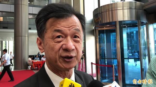法務部長邱太三。(資料照,記者錢利忠攝)