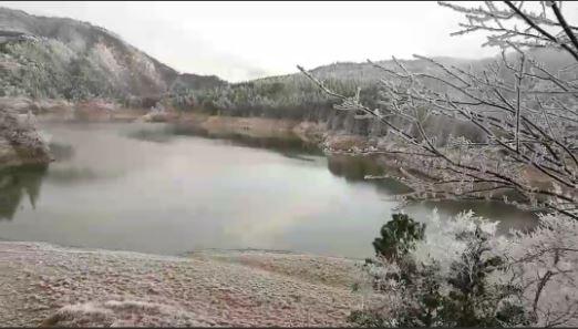 翠峰湖美景。(記者江志雄翻攝)