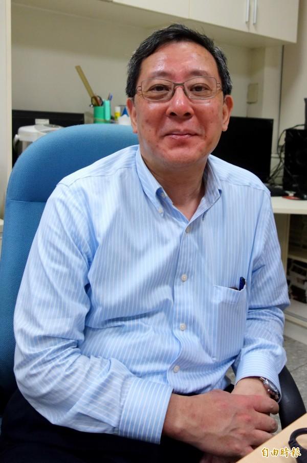 國立台灣大學主任秘書林達德,針對「中國新歌聲」海報上寫「台北市台灣大學」一事感到很生氣,表示「國立台灣大學就是國立台灣大學」的立場絕對不變。(資料照,記者吳柏軒攝)