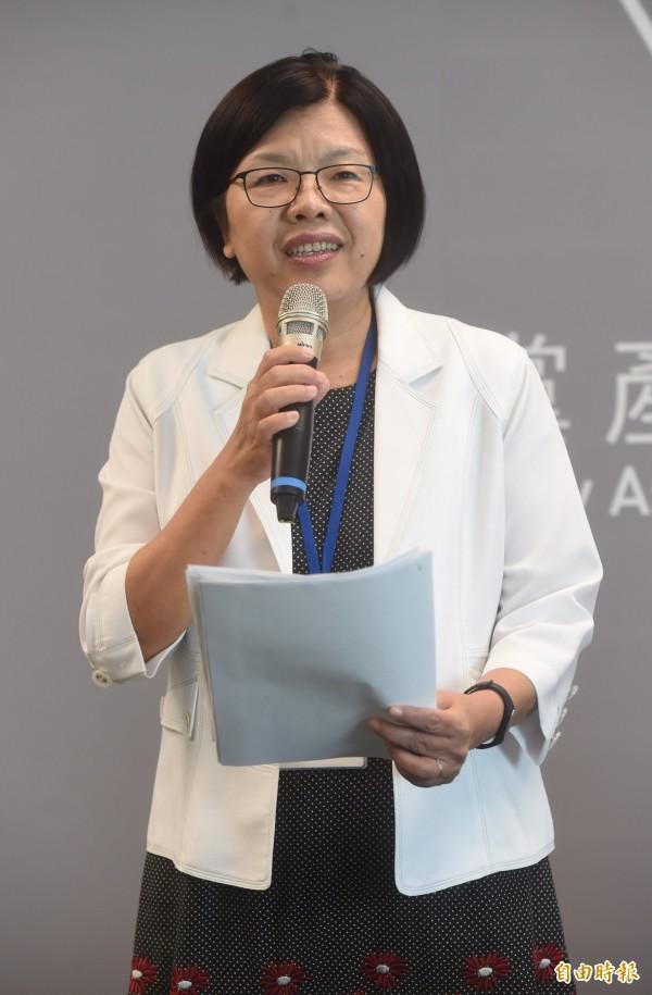 不當黨產處理委員會發言人施錦芳認為,「國民黨以前都不知道自己有385億?這很好笑。」(資料照,記者簡榮豐攝)