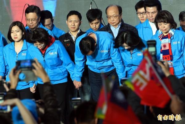 王曉波認為,國民黨慘敗是因為立場過於偏近民進黨(資料照,記者張嘉明攝)