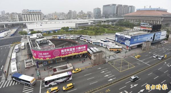 台北西站7月將走入歷史。(資料照,記者陳志曲攝)