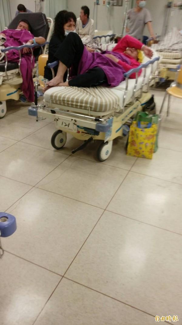 涉嫌販賣黑心油的強冠董事長葉文祥,目前人在高雄長庚醫院急救。(記者方志賢攝)