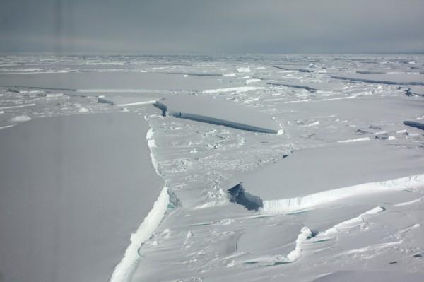 根據一份最新研究指出,自1992年來,南極洲已有近3兆公噸的冰消融,而且冰層消融速度越來越快,有40%的冰是在過去5年消融。(路透)