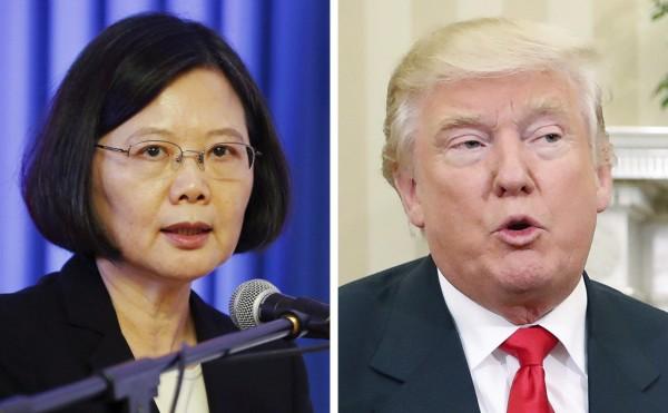 美國務院專家表示,川普對北韓極為關切,就連與蔡英文通話時都曾提到相關議題。(美聯社)